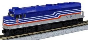 Kato (USA) 176-9001 EMD F40PH Virginia Railway Express No.V36